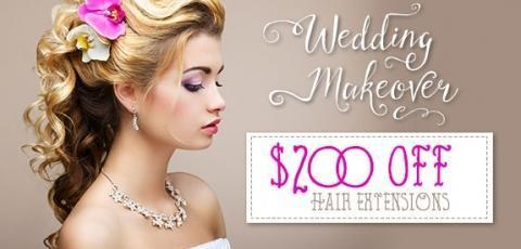 $200 off Hair Extensions at MHN